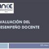 INEE – Evaluación del desempeño docente