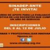SNTE Mediante SINADEP Invitan Al Curso Virtual Para Los Maestro Que Cumplen Su Primer Año De Servicio