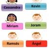 Gafetes Para Niños