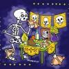Día de muertos dibujo para colorear