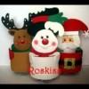 Bonitos dulceros navideños