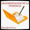 Argumentación de la evidencias