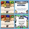 Fabulosas diplomas para graduados