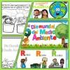 Fabulosos diseños e imagenes para colorear del día mundial del medio ambiente