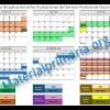 Calendario de evaluaciones del servicio profesional docente INNE 2016
