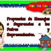Propuestas de mensajes o sugerencias a los padres de familia