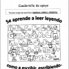 Excelente cuadernillo de apoyo para alumnos silábicos alfabéticos