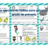 Fabulosos ejercicios de sílabas para primer y segundo grado de primaria