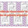 Cuadernillos de repaso escolar de todos los grados de primaria primavera 2018
