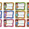 Laminas para repasar las tablas de multiplicar